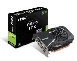 Karta graficzna MSI GeForce GTX 1060 AERO ITX 3GB OC GDDR5 (192 Bit) DVI-D, 2xHDMI, 2xDP, BOX (GTX 1060 AERO ITX 3G OC)