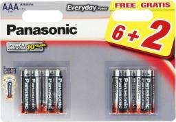 Panasonic Bateria Everyday Power AAA / R03 8szt.