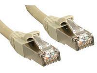 LINDY Patchcord S/FTP, Cat.6, 80m, szary  (45595)