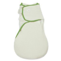 SwaddleMe Śpiworek/otulacz Swaddle w rozmiarze L, zielony (SM-000020)