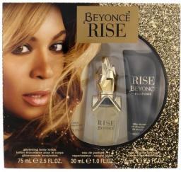 Beyonce Rise Zestaw dla kobiet EDP 30ml + 75ml Balsam + 75ml Żel pod prysznic