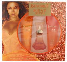 Beyonce Heat Rush Zestaw dla kobiet EDT 30ml + 75ml Krem do ciała + 75ml Żel pod prysznic