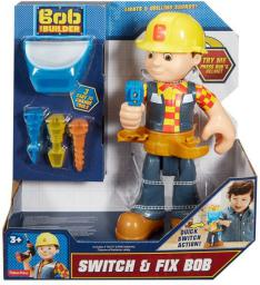 Mattel Bob Budowniczy - złota rączka (FFN18)