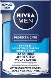 Nivea MEN Woda po goleniu Protect & Care 2w1 100ml