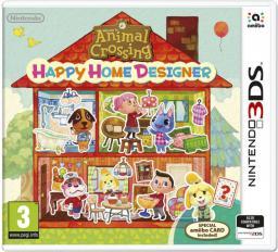 Gra Nintendo 3DS Animal Crossing: Happy Home Designer + Karta amiibo (NI3S014)