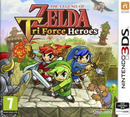 Gra Nintendo 3DS The Legend of Zelda: Tri Force Heroes (NI3S71550)
