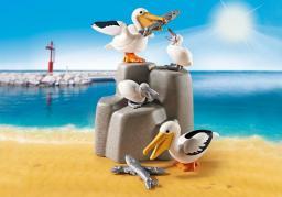 Playmobil Family Fun Rodzina pelikanów (9070)