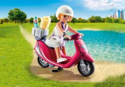 Playmobil Special Plus, Figurka plażowa ze skuterem (9084)