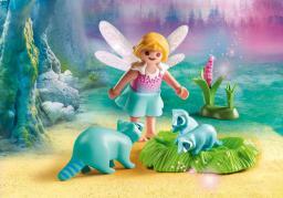 Playmobil Fairies, Wróżka i rodzina szopów (9139)