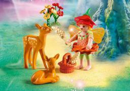 Playmobil Fairies, Wróżka z sarnami (9141)