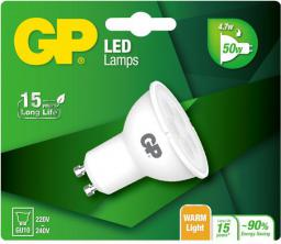 GP Battery LED Twist GU10 Light, 4.7W, 345lm (472085)