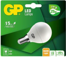 GP Battery LED Mini Globe E14, 3.5W, 250lm (472096)