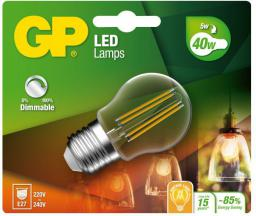 GP Battery GP LED Filament Mini Globe E27, 5W, 470lm (472109)