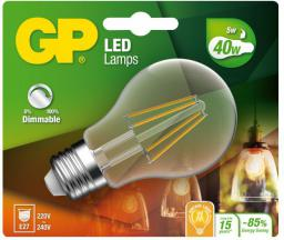 GP Battery GP LED Filament Classic E27, 5W, 470lm (472111)