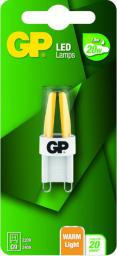 GP Battery LED Capsule G9, 1,8W, 200lm, 220-240V (472129)