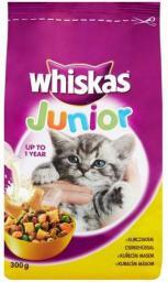 Whiskas Junior sucha karma z kurczakiem 300g