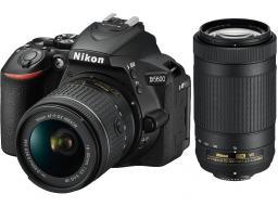 Lustrzanka Nikon D5600 + DX AF-P 18-55 VR + AF-P 70-300 VR (VBA500K004)