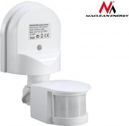 Maclean Ścienny czujnik ruchu zmierzchu 180° 1200W biały (MCE25 W)