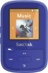 Odtwarzacz MP3 SanDisk SANSA Clip Sport Plus 16GB, niebieski (SDMX28-016G-G46B)