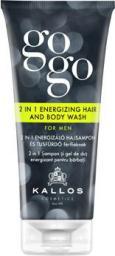 Kallos GOGO szampon pod prysznic i żel do ciała 2w1 dla mężczyzn 200 ml