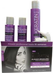 Kativa ALISADO BRASILENO XPRESS Zestaw do keratynowego prostowania włosów EXPRESS