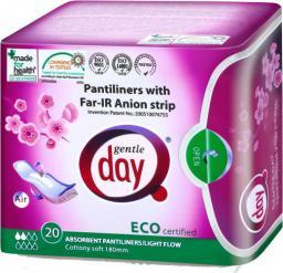 Gentle Day Wkładki ekologiczne absorbujące z paskiem anionowym 20 sztuk