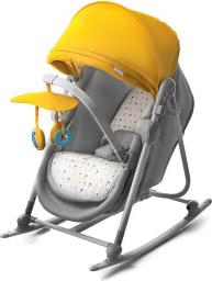 KinderKraft Leżaczek 5w1 UNIMO yellow (KKKUNIMYEL0000)