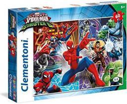 Clementoni 60 ELEMENTÓW Spider man