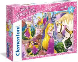 Clementoni 24 Elementy, Maxi Księżniczki Disneya