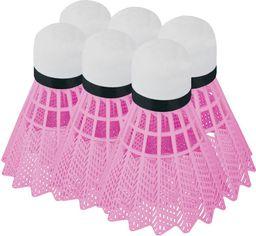 Spokey Lotki do badmintona 6szt. Flame Spokey różowy roz. uniw (839944)