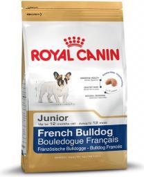 Royal Canin French Bulldog Junior karma sucha dla szczeniąt do 12 miesiąca, rasy bulldog francuski 10 kg