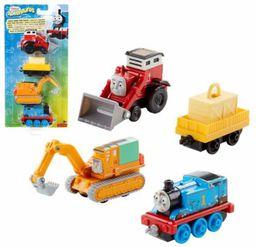 Mattel Tomek i Przyjaciele Wielopak lokomotywek Adventures Jack