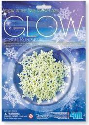 4M Glow in the dark - Płatki śniegu (229882)