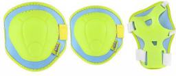 NILS Extreme H106 zielono-niebieski rozm. M zestaw ochraniaczy (16-60-006)