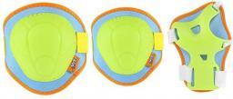 NILS Extreme H106 zielono-pomarańczowy rozm. M zestaw ochraniaczy (16-60-009)