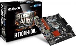 Płyta główna ASRock H110M-HDV R3.0