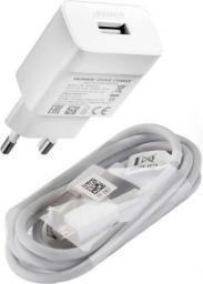 Ładowarka Huawei AP32 Biała + kabel MicroUSB typu C (2452156)