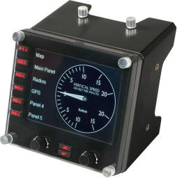Joystick Logitech G Saitek Pro Flight Instrument Panel USB (945-000008)