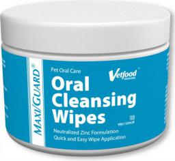 Vetfood MAXI/GUARD Oral Cleansing Wipes (100 szt)
