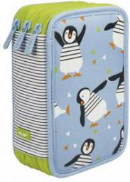 Piórnik MILAN Piórnik 3 poziomy z wyposażeniem - pingwiny (081364PNG)
