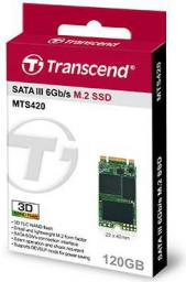 Dysk SSD Transcend MTS420 120 GB, SATA3 (TS120GMTS420)