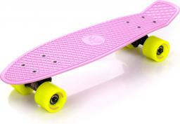 Deskorolka Meteor Fiszka Pennyboard Pastelowy Różowy/Neonowy Żółty/Czarny (23697)