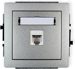 m_Karlik Mechanizm gniazda RJ11, 4-stykowy (RTV002566)