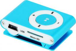 Odtwarzacz MP3 Setty MP3 + słuchawki niebieski (GSM024740)