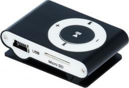 Odtwarzacz MP3 Setty MP3 + słuchawki czarny (GSM024738)