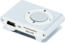 Odtwarzacz MP3 Setty MP3 + słuchawki srebrny (GSM024736)