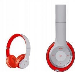 Słuchawki Freestyle FH0915 szaro-czerwone (43686)