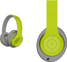 Słuchawki Freestyle FH0916 zielono-szare (43682)