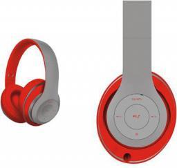 Słuchawki Freestyle FH0916 czerwono-szare (43683)