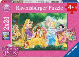 Ravensburger Puzzle 2x24el Przyjaciele Księżniczek (089529)